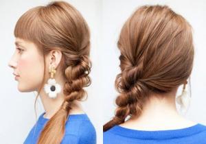 2014冬レディースミディアムヘアはこれ!流行の髪型簡単アレンジ』