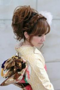 成人式の髪型!ロングのおすすめは?編み込みヘアアレンジも!その2