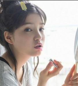 10代女子がなりたい顔ランキング4位!川島海荷風メイクの方法!!その3