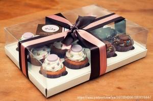 バレンタインラッピングの方法!カップケーキの簡単ラッピングアイデア集その2