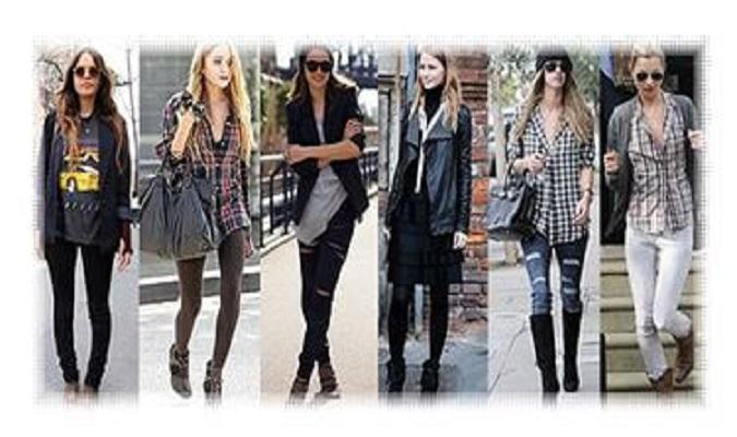 90年代ファッションが2015年流行!グランジって?おすすめコーデは?その2