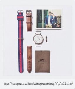 人気の腕時計ダニエルウェリントンをおすすめする5つの理由!その1