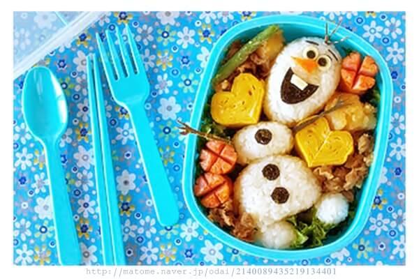 アナ雪のお弁当簡単レシピ!おすすめのつくり方は?その1
