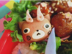 運動会でも!コマさん・コマじろうのお弁当簡単レシピ!おすすめの作りかた!その4