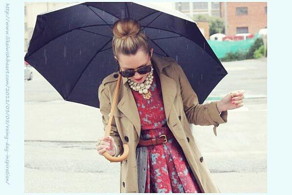 2015年トレンチレインコートコーデの人気おすすめランキング!梅雨でもおしゃれに!その2
